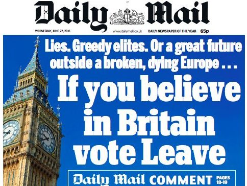 Daily Mail and Mail on Sunday readers agree on second Brexit referendum despite disparity in editorial stance, Yougov poll shows