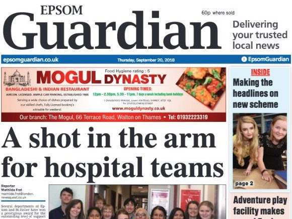 Newsquest closes Epsom Guardian to relaunch as new edition in 'iconic and historic' Surrey Comet series