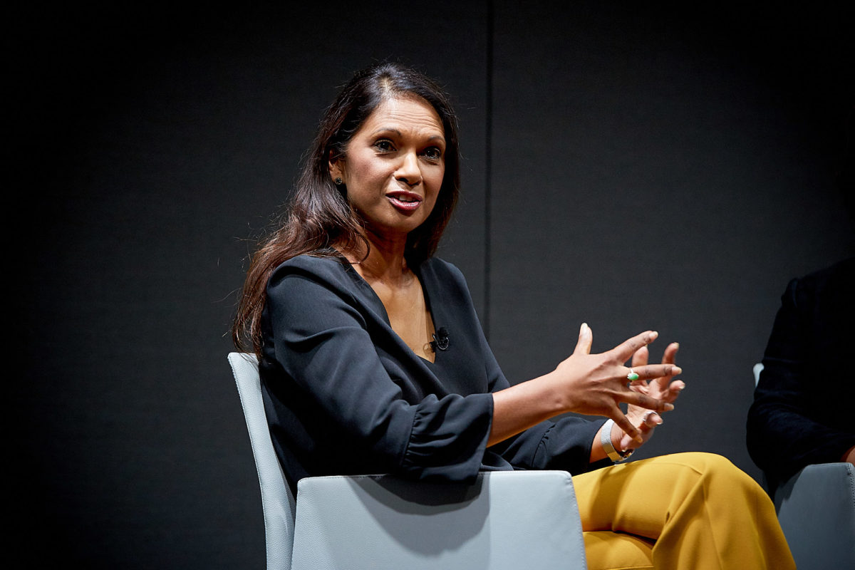 Anti-Brexit campaigner Gina Miller believes Daily Mail change of tone under Geordie Greig 'isn't going to happen anytime soon'