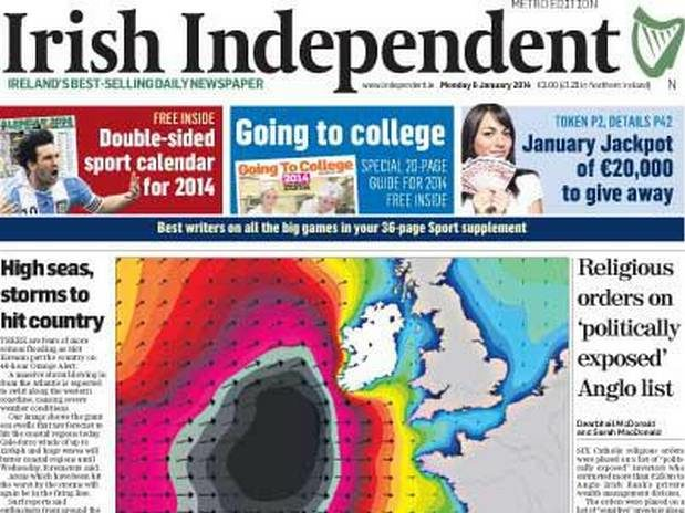 Irish newspapers join forces in call to cut VAT levy on print as news body chairman warns 'future of journalism at crossroads'