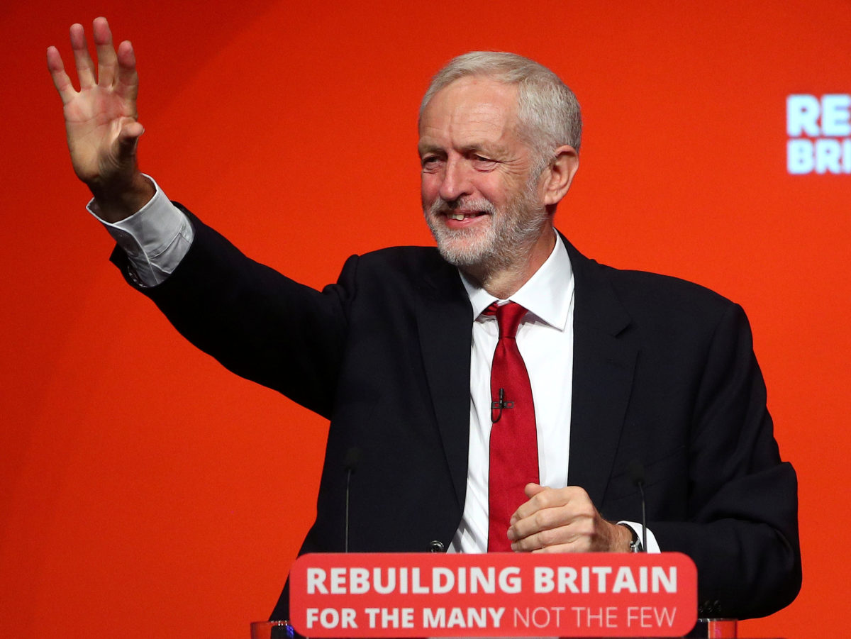 Jeremy Corbyn tells Labour Conference free press in UK 'has too often meant the freedom to spread lies and half-truths'