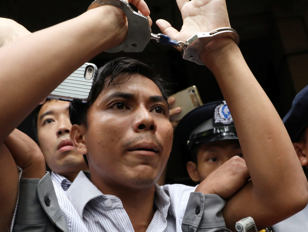 Newspapers warn jailing of Reuters reporters in Myanmar 'should concern every journalist and media organisation'