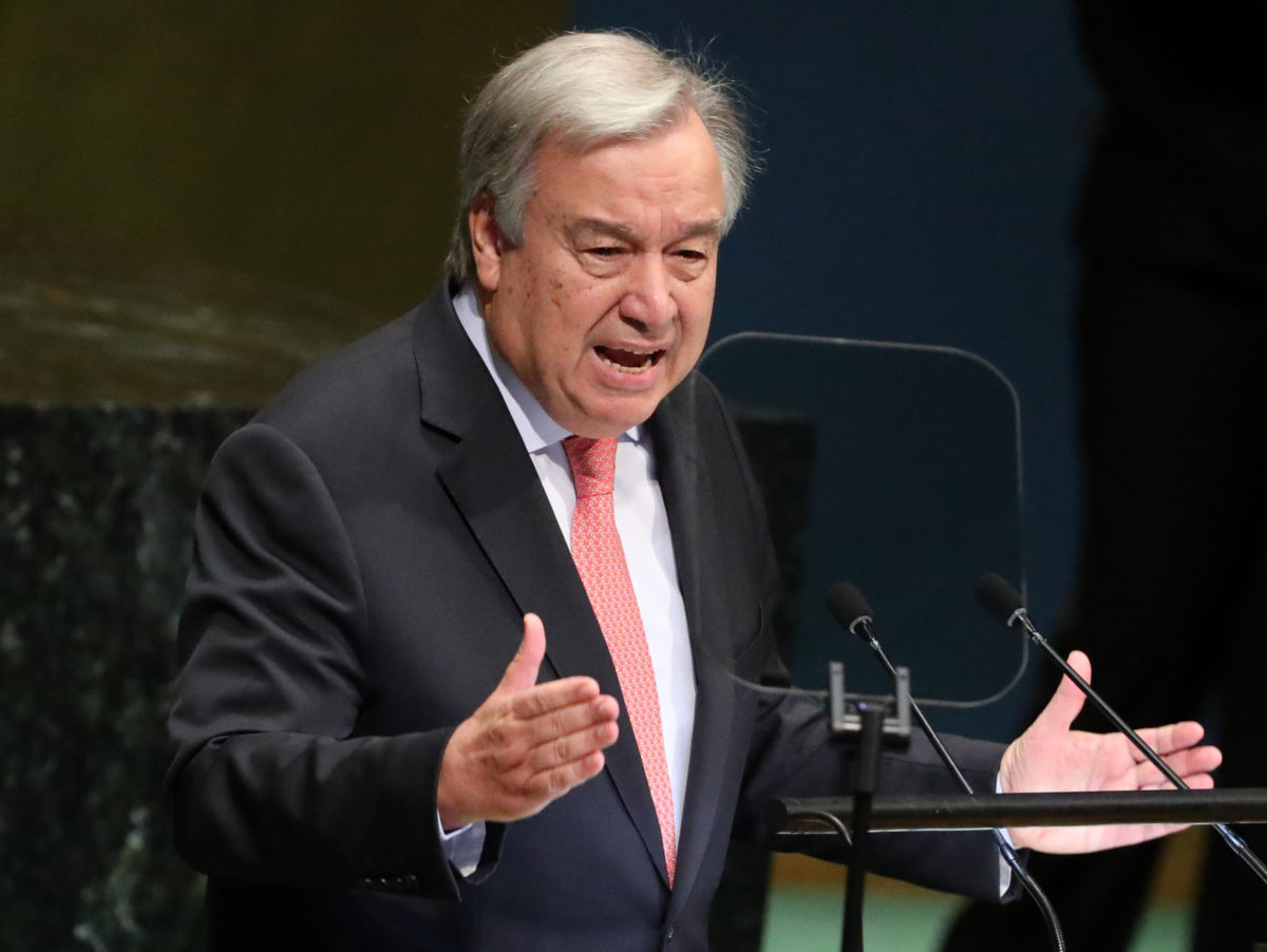 UN Secretary-General calls on Myanmar to pardon and release imprisoned Reuters reporters
