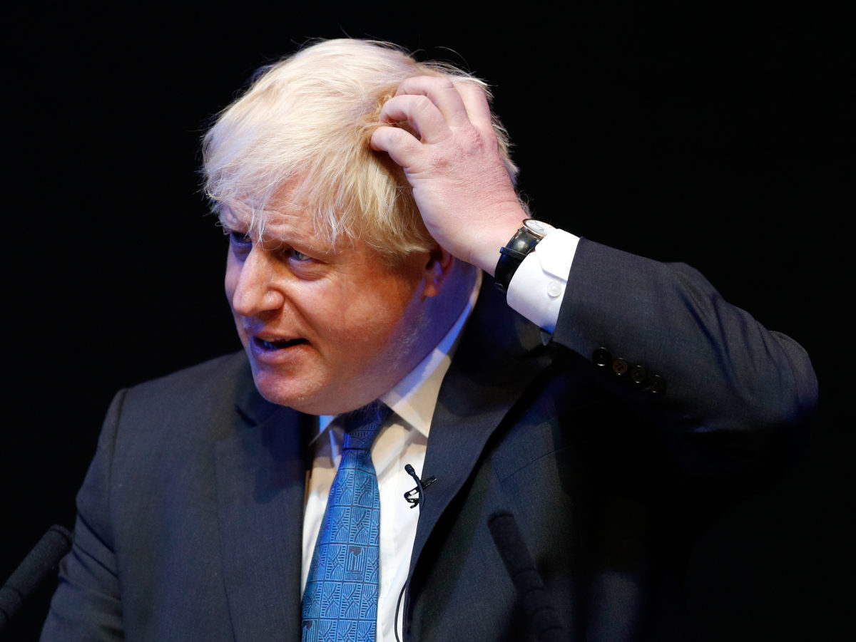 Former foreign sec Boris Johnson paid £275,000 for ten hours a month writing Telegraph column