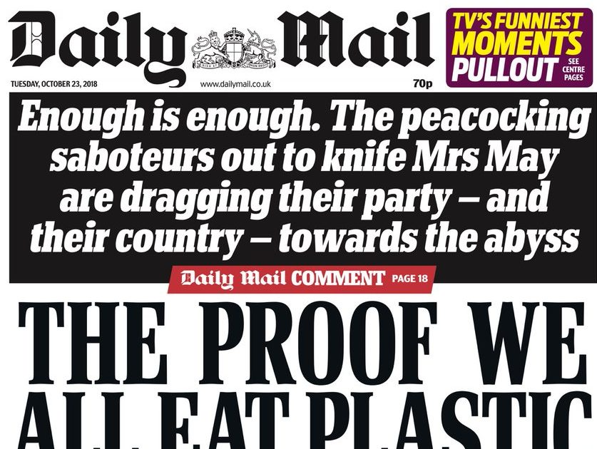 Guardian calls 'striking change' in Daily Mail's Brexit coverage after Paul Dacre exit a 'media and political milestone'