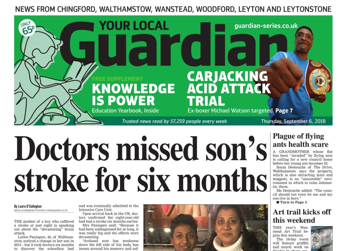 Newsquest merges three London weeklies into one new title with launch of East London and West Essex Guardian
