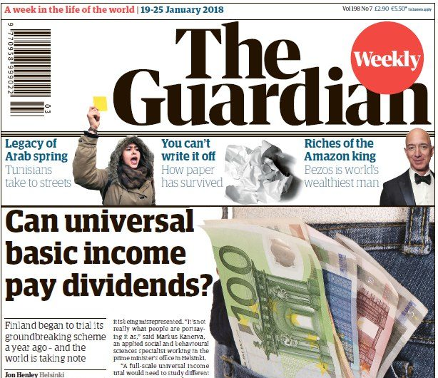 Guardian Weekly relaunches as news magazine nearly 100 years after international paper's first edition published
