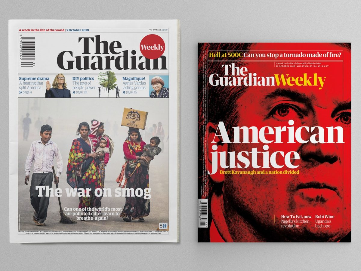 Guardian Weekly's relaunch as news magazine 'not a crazy new venture but an evolution' as cover price hiked by £1.60