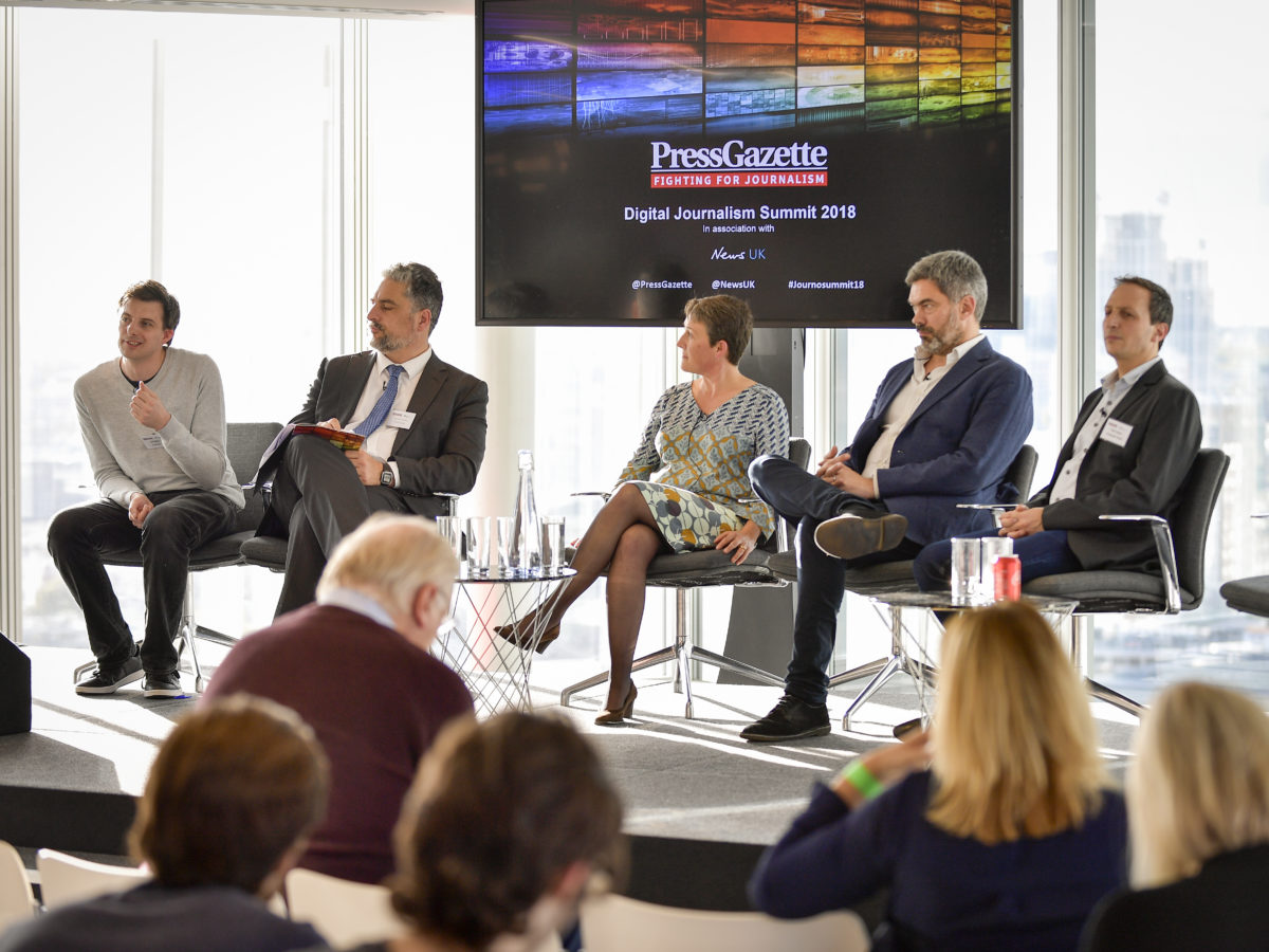Press Gazette's Digital Journalism Summit 2018 in pictures
