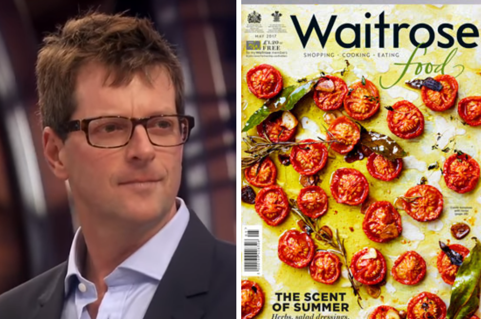 Waitrose Food magazine editor William Sitwell steps down after 'killing vegans' reply to freelance pitch