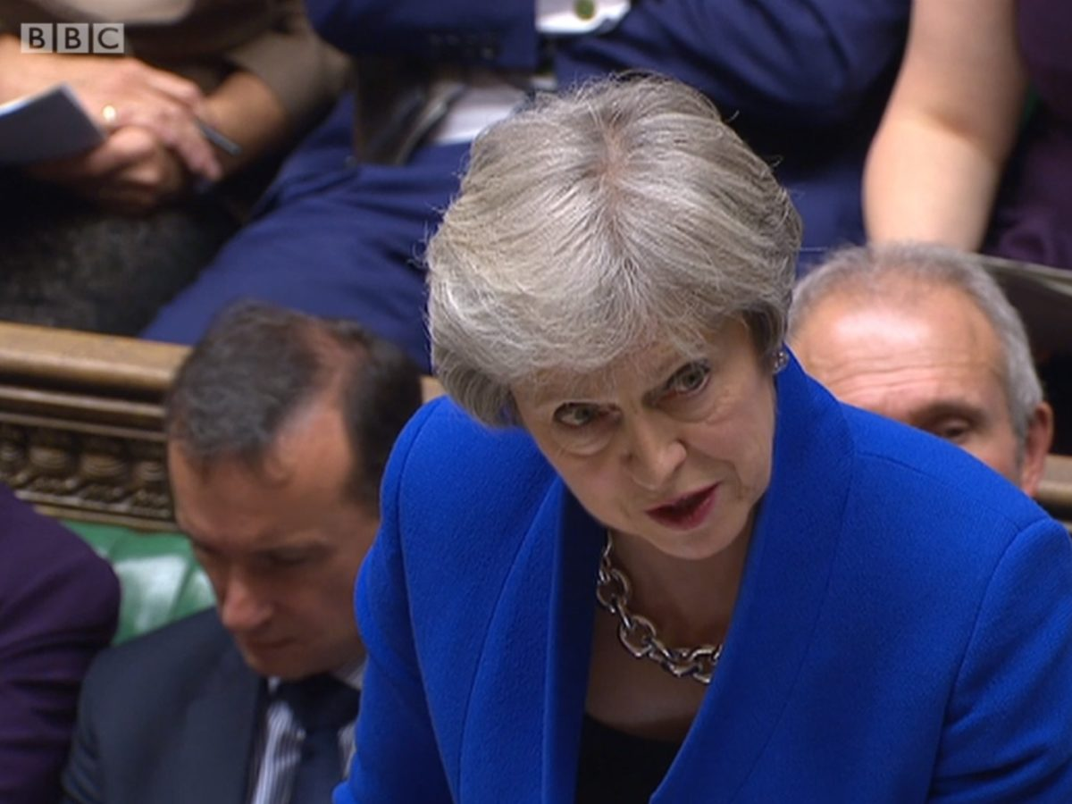 PMQs: Theresa May rejects Saudi claim Jamal Khashoggi 'died in fight' as 'not credible' and says NDAs 'cannot stop people whistleblowing'