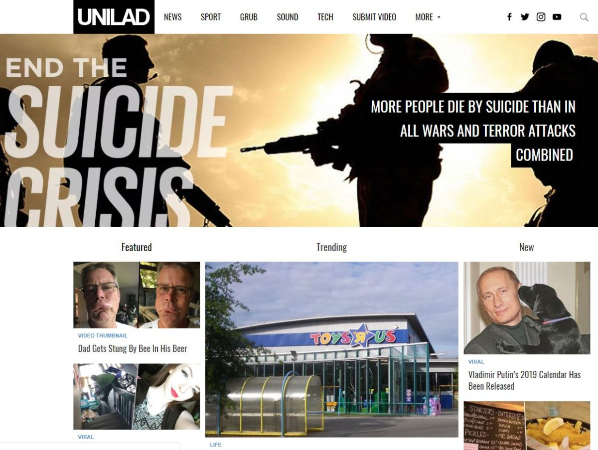 Unilad to go into administration as company behind viral publisher owes more than £6m