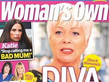 Woman's Own magazine ordered to flag correction on front page over inaccurate 'diva' Denise Welch story