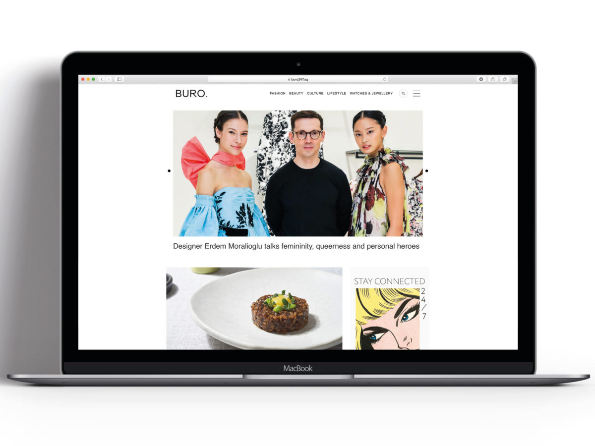 Fashion and lifestyle website Buro 24/7 opens London HQ ahead of website relaunch as it declares itself the 'new face of luxury media'