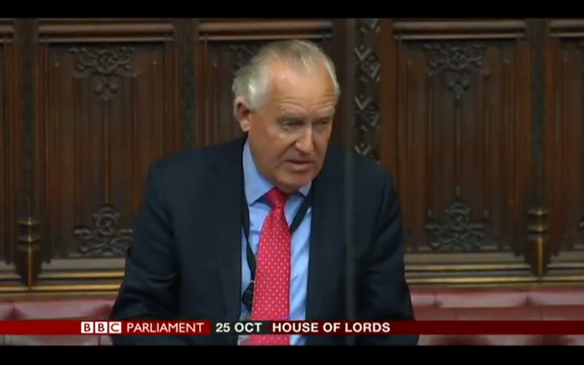 Speaker warns peers to avoid 'conflict' with courts after naming of Sir Philip Green as tycoon behind Telegraph gag