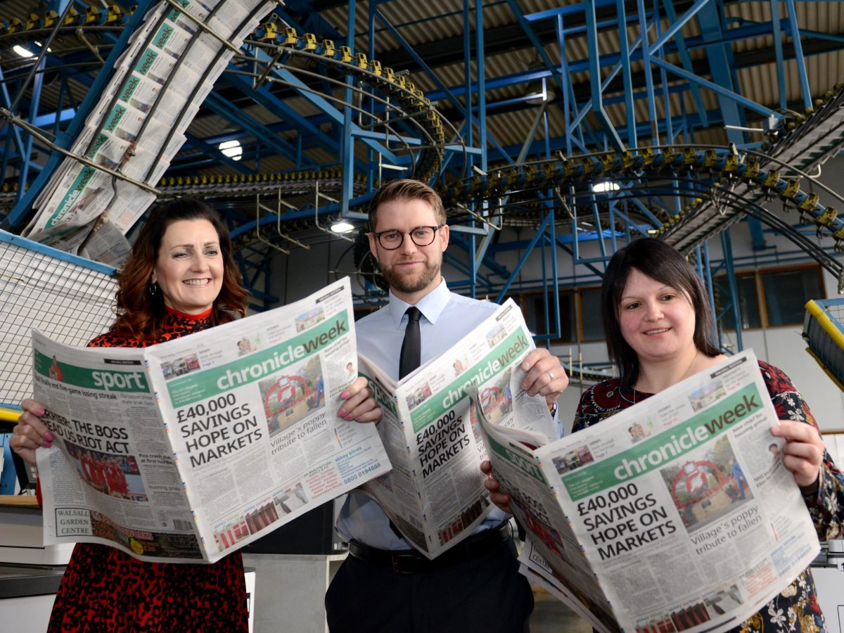 Seven newspaper titles merge into one to create UK's 'biggest free weekly' from Midlands publisher but four jobs lost