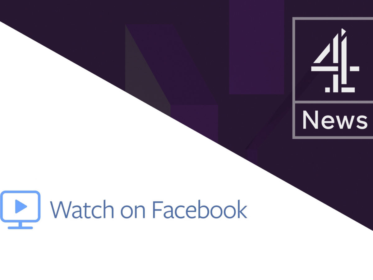 Channel 4 News to launch 'hard-hitting' weekly show on new Facebook video platform funded by social network