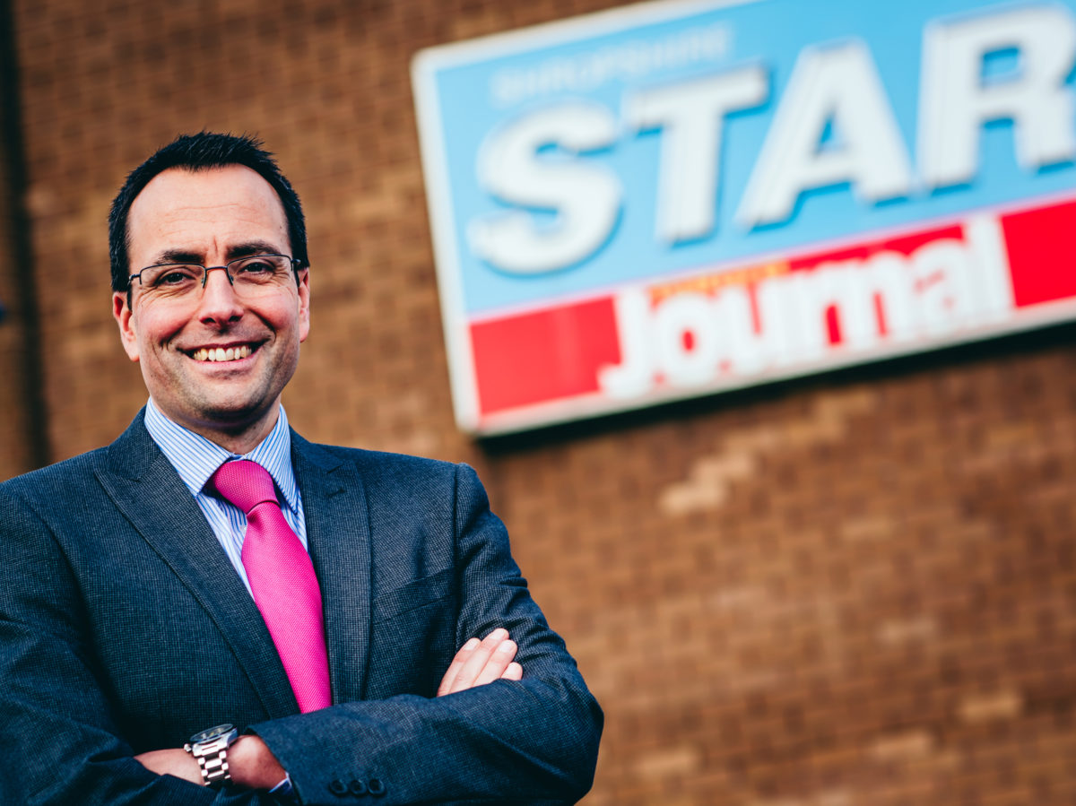 Martin Wright to head up Express & Star and Shropshire Star in new role as editor-in-chief of Midland News Association