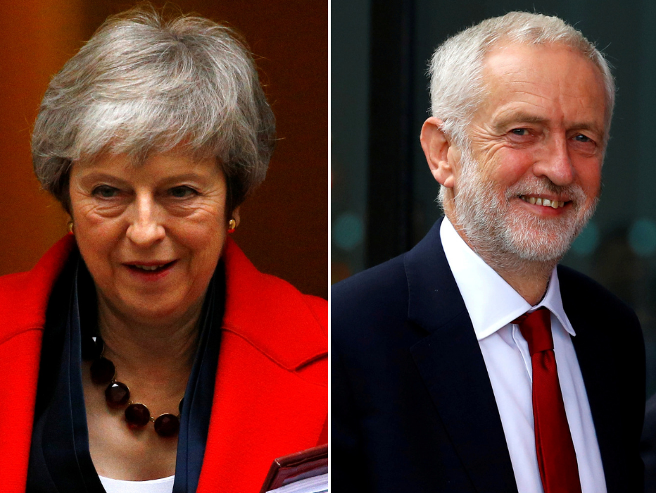 BBC drops Brexit deal TV debate as Theresa May and Jeremy Corbyn fail to agree on its format