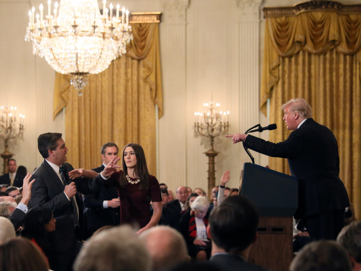 Judge orders White House to return CNN journalist Jim Acosta's press pass after US news network sues Donald Trump