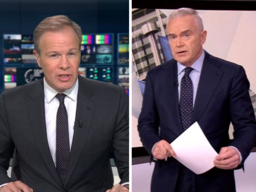 TV newsreaders see biggest fall in trust among UK professions over past year, survey finds