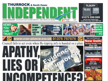 Thurrock Independent breached privacy code by showing woman's bank details in fly-tip story video, rules IPSO