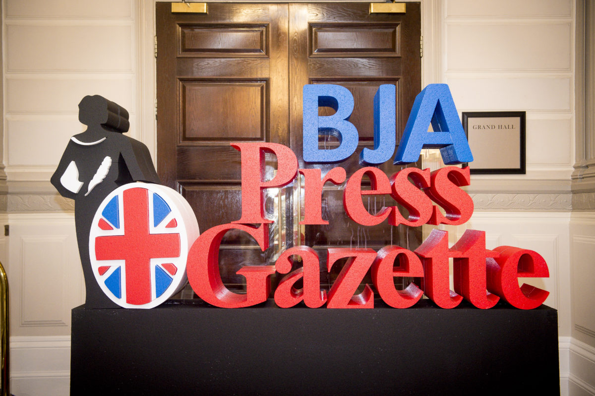 Press Gazette's British Journalism Awards 2018 in pictures