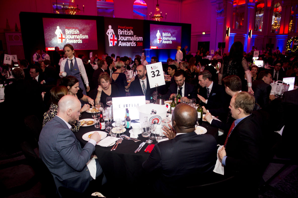 British Journalism Awards 2021: Back as live event and celebrating decade of great public service journalism