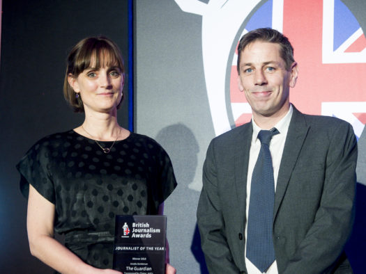 British Journalism Awards 2018: FT takes top prize, Amelia Gentleman named Journalist of the Year + full list of winners