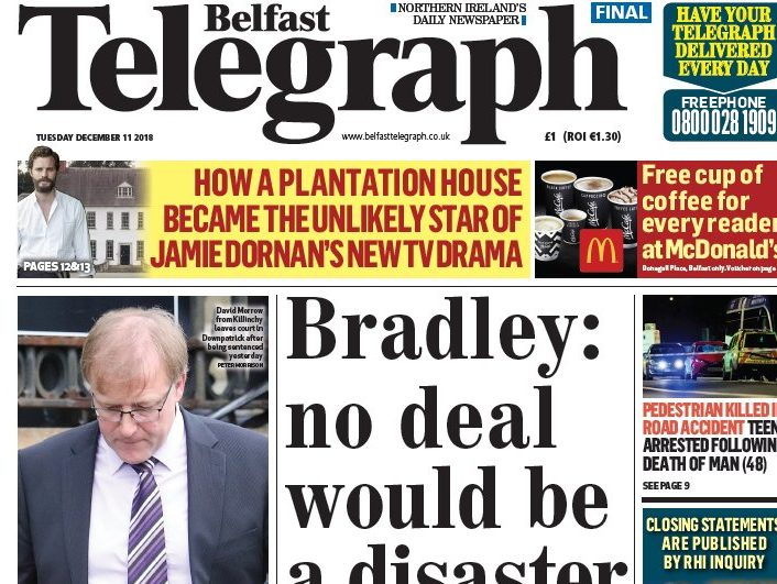 Belfast Telegraph and Sunday Life journalists to vote on industrial action over 'derisory' pay offer
