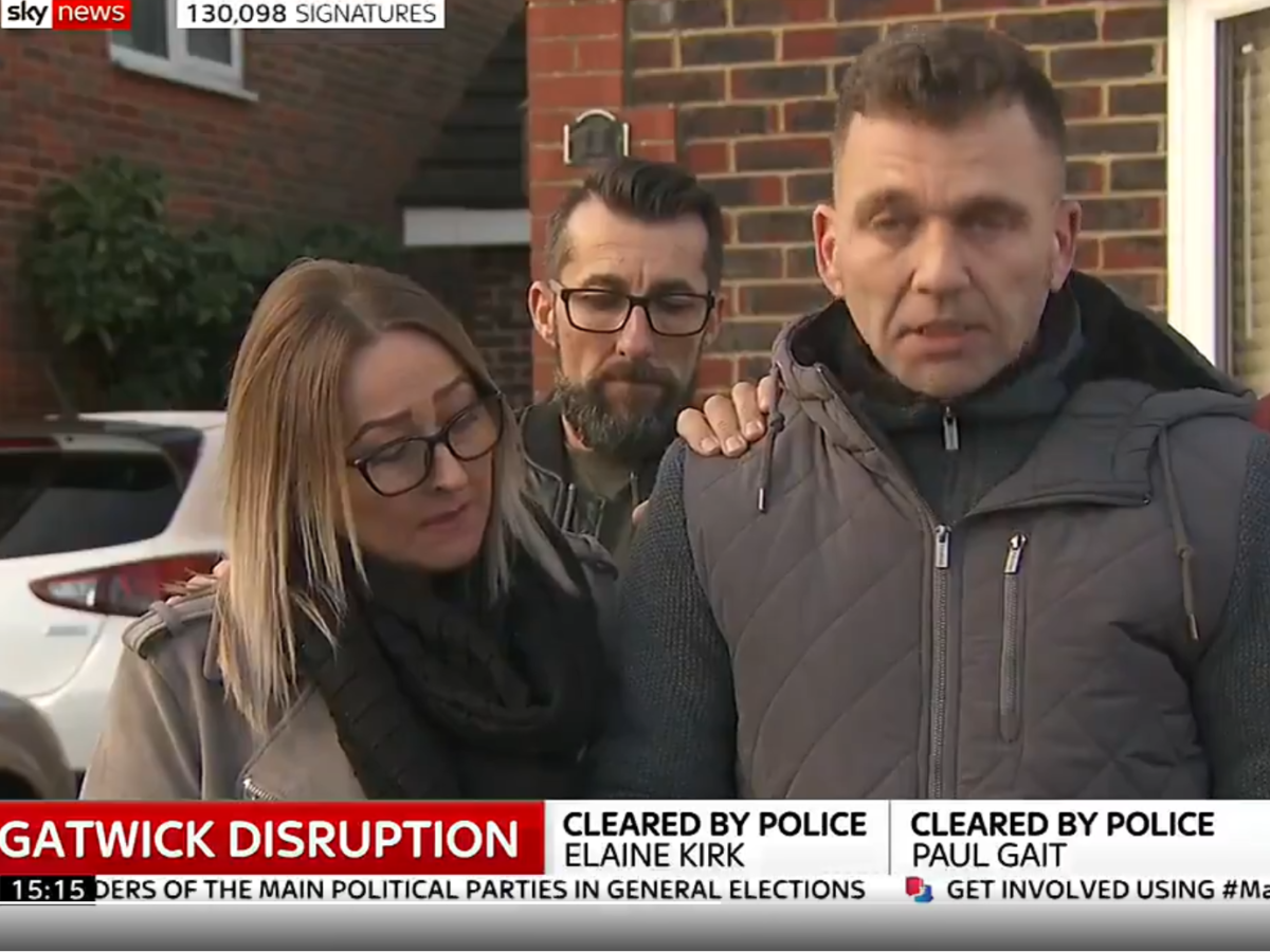 Couple wrongly arrested over Gatwick drone chaos could have 'strong' privacy claim against newspapers in wake of Sir Cliff ruling