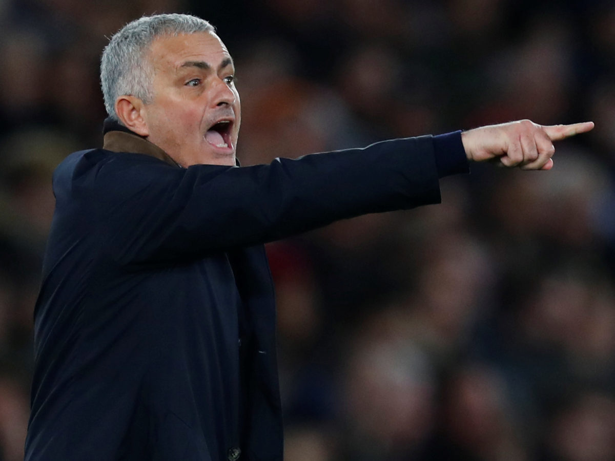 Manchester United manager José Mourinho clashes with reporter from club's in-house channel