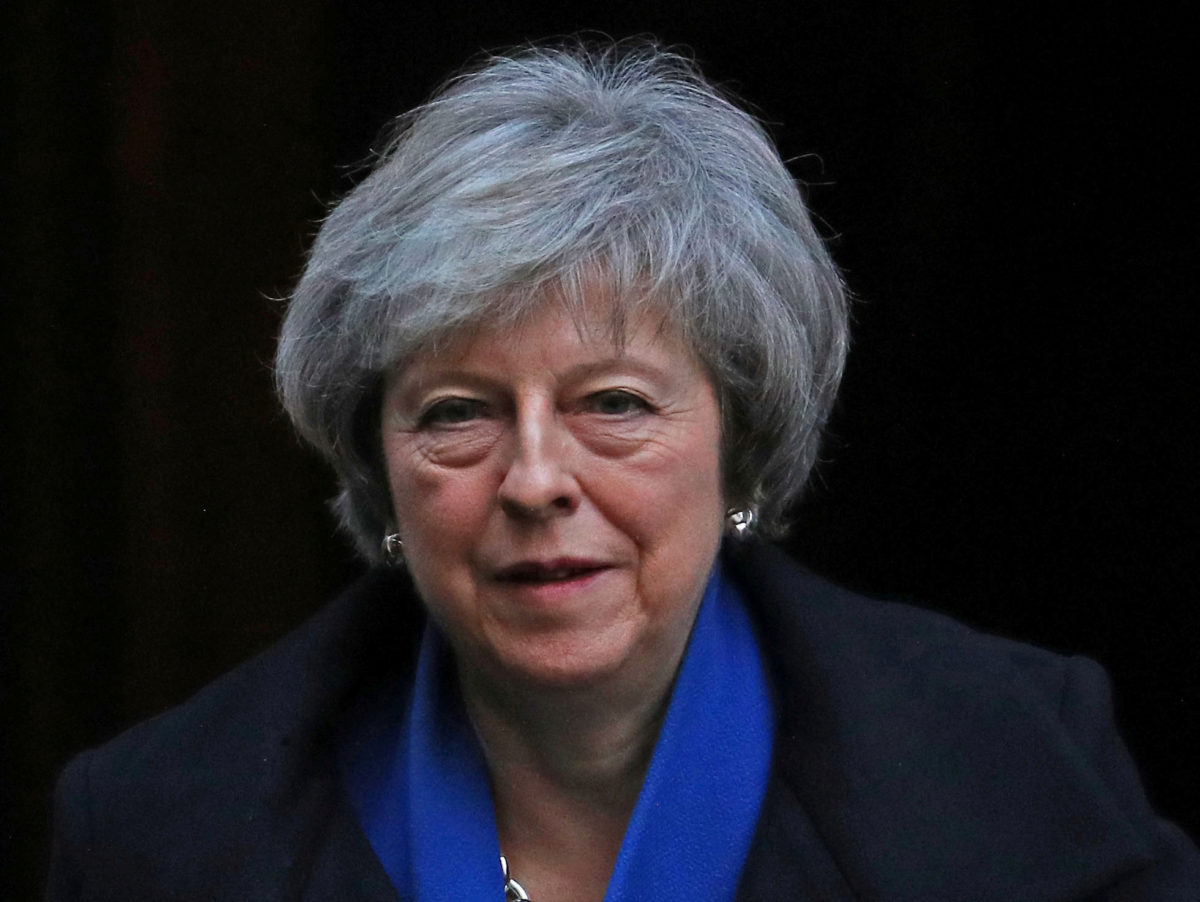Theresa May courted editors of pro-Brexit newspapers over summer, new data shows