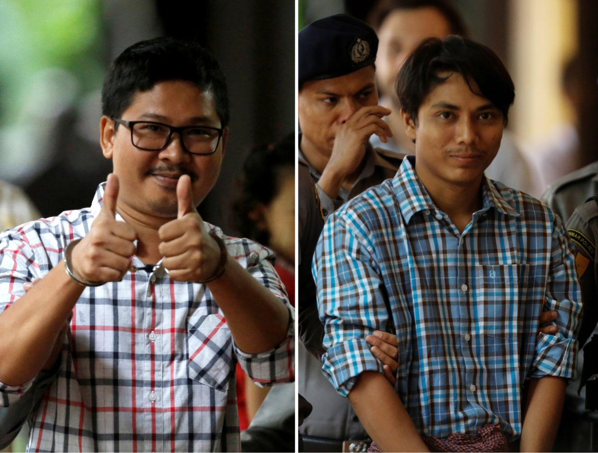 Jailed Reuters reporters Wa Lone and Kyaw Soe Oo lose final appeal at top Myanmar court