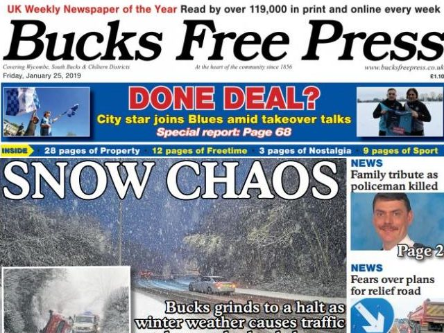 Newsquest launches new Bucks Free Press edition to cover areas abandoned through Reach title closures