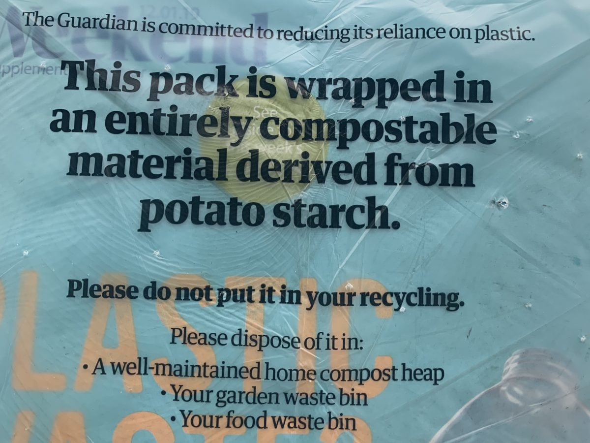 Guardian and Observer hike cover prices as Saturday edition gets compostable wrapping in UK first