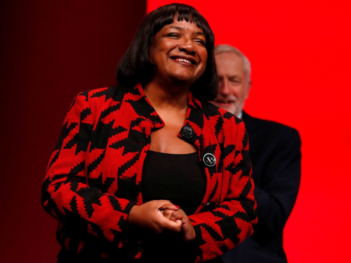 Labour file complaint with BBC over Diane Abbott's Question Time appearance and request show's warm-up footage