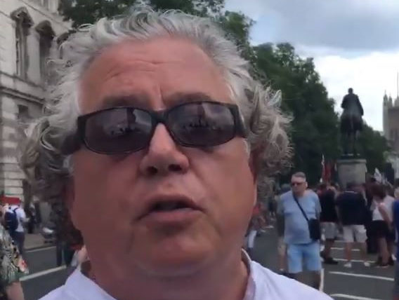 Tommy Robinson supporter fined after verbally abusing Al Jazeera journalist at rally
