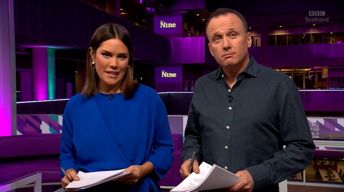 Viewers tune out for new Scottish TV news hour The Nine but BBC hails 'encouraging start'