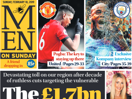 Manchester Evening News launches first Sunday edition with new supplement but no new reporters