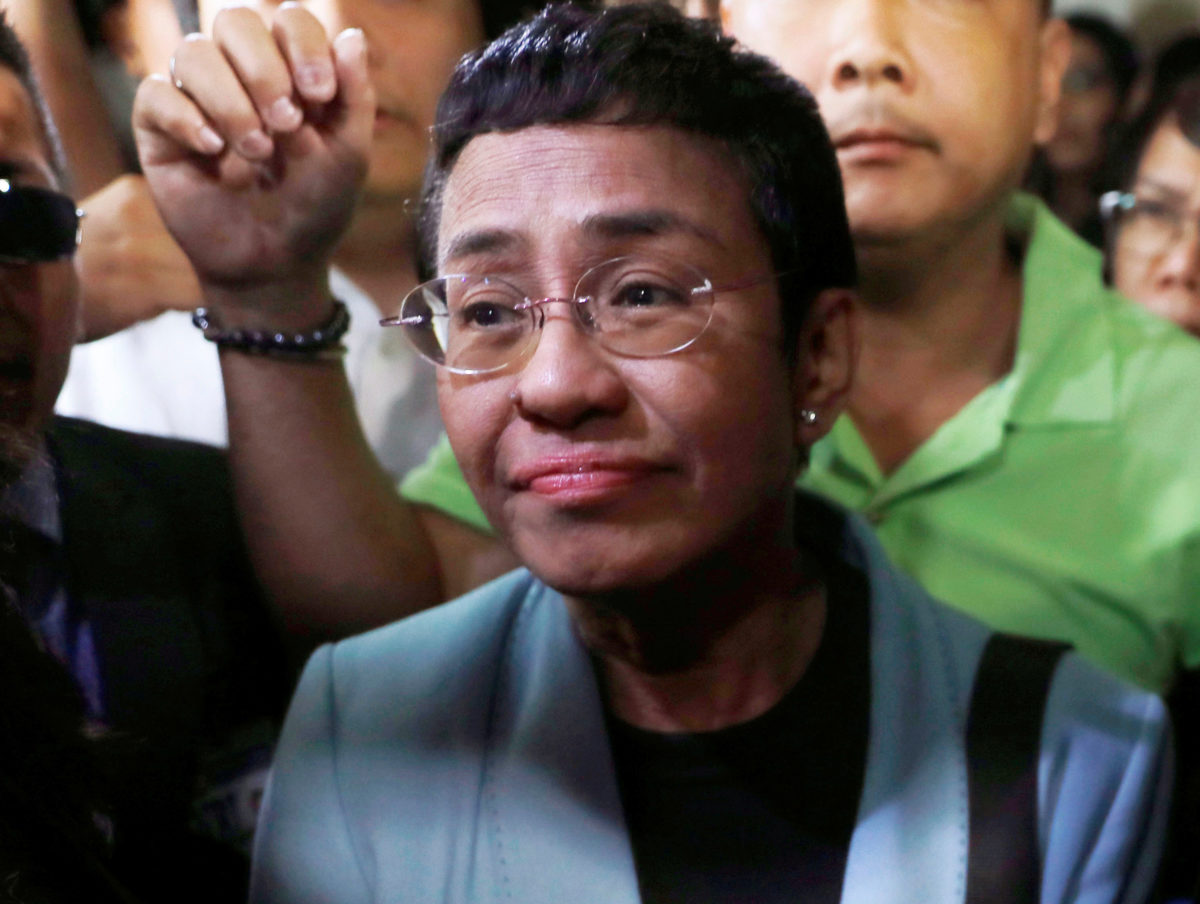 Philippine journalist Maria Ressa vows to 'keep fighting' after jail sentence for libel