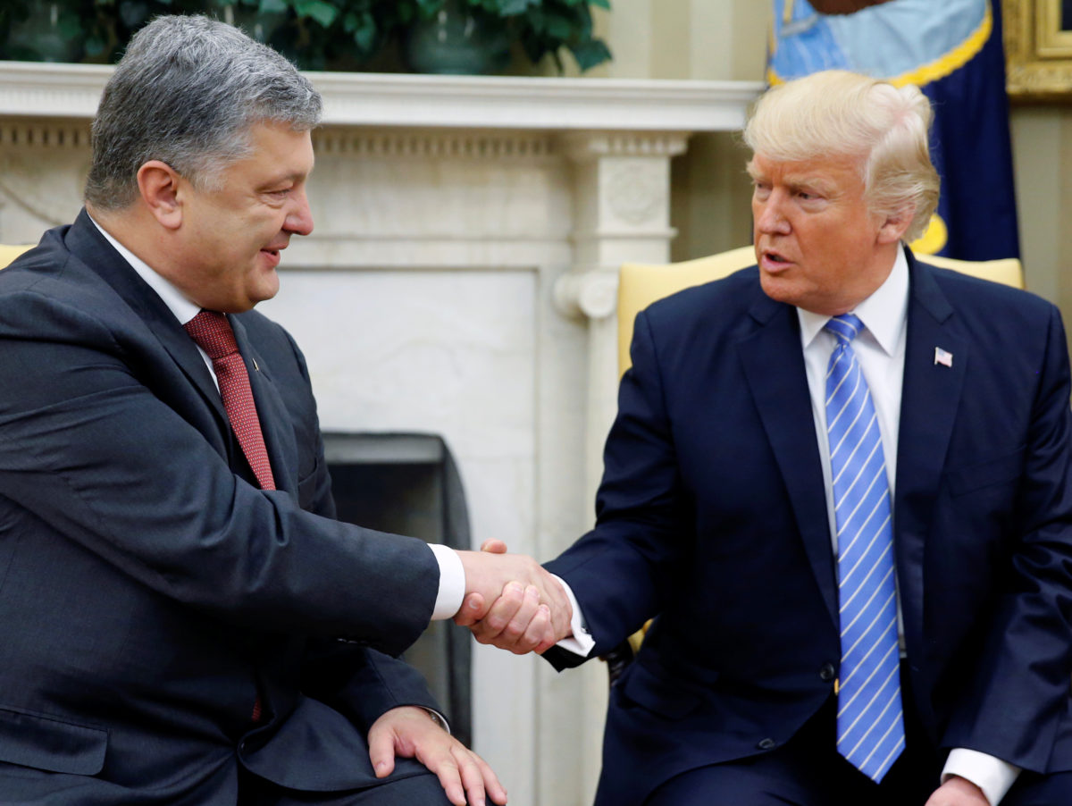 Ukranian president in libel action against BBC over claim of £300,000 payment to 'fix talks' with Donald Trump