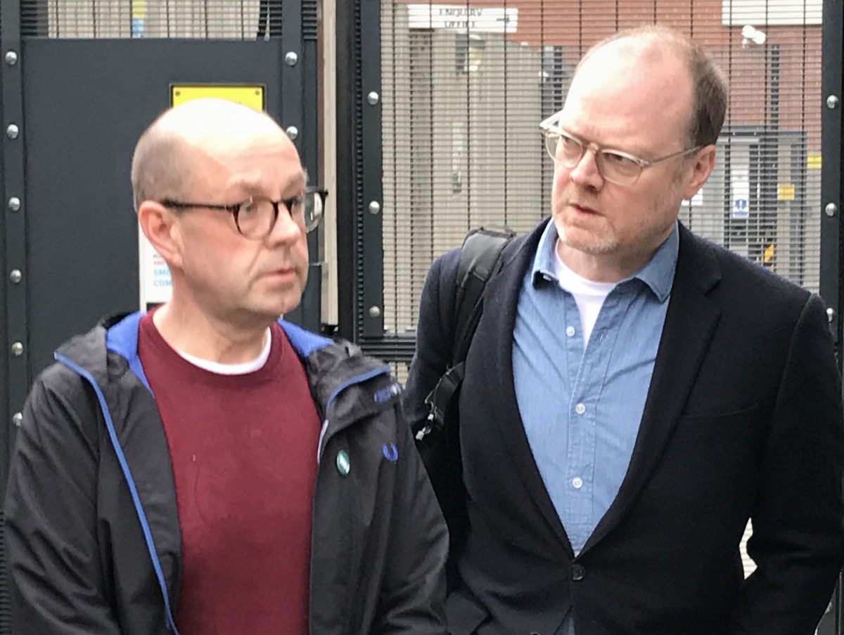 Bail extension for two Northern Irish journalists 'a travesty' but police fail in attempt to impose 'draconian' bail conditions