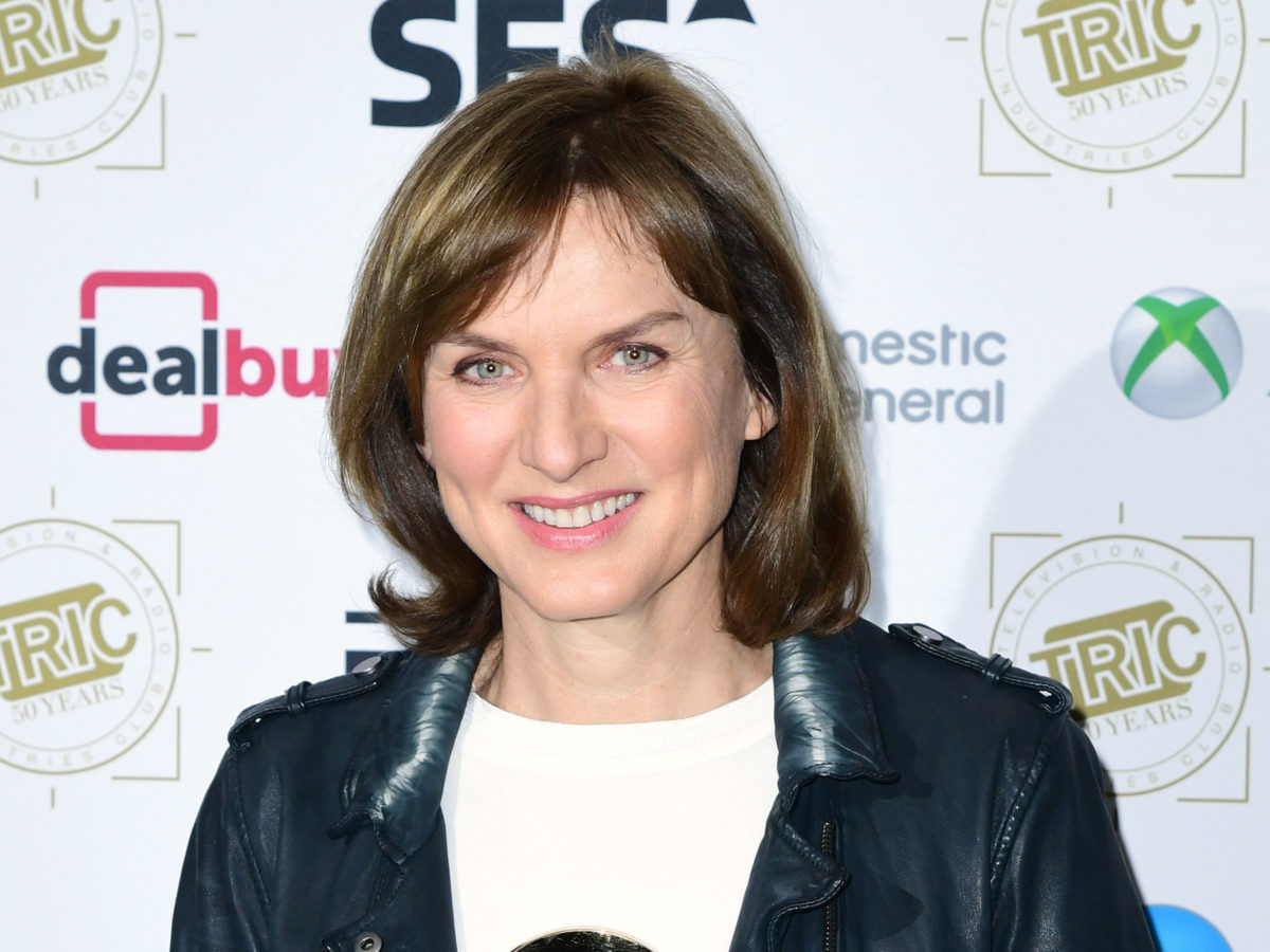 Fiona Bruce reveals her hands were 'trembling' ahead of BBC Question Time debut due to nerves