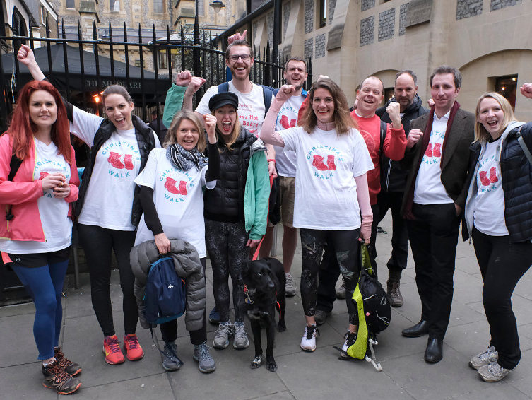 Sun staff raise £5,000 with 18-mile walk in memory of health features editor who died one year ago aged 31
