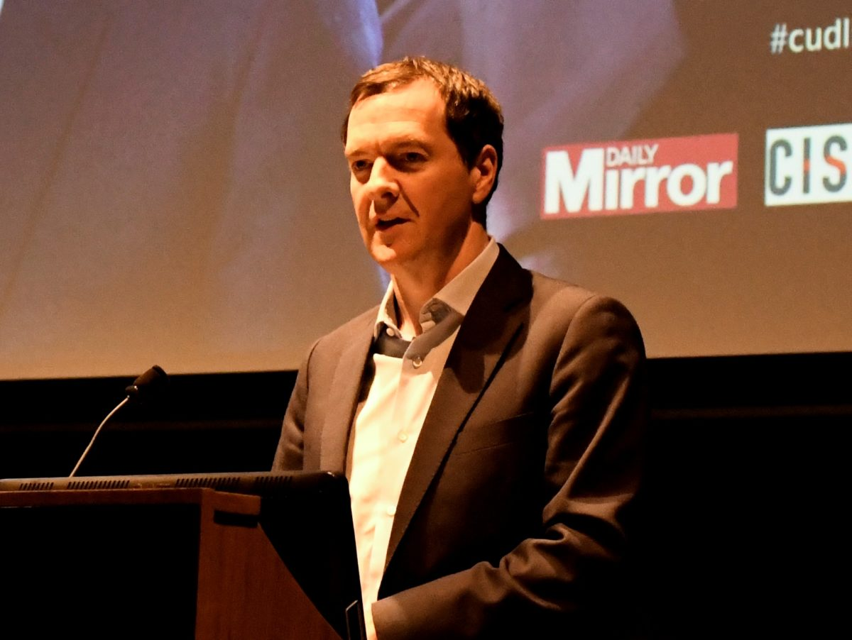 George Osborne says press influence on Brexit vote 'overstated' and warns against using public money to sustain newspapers