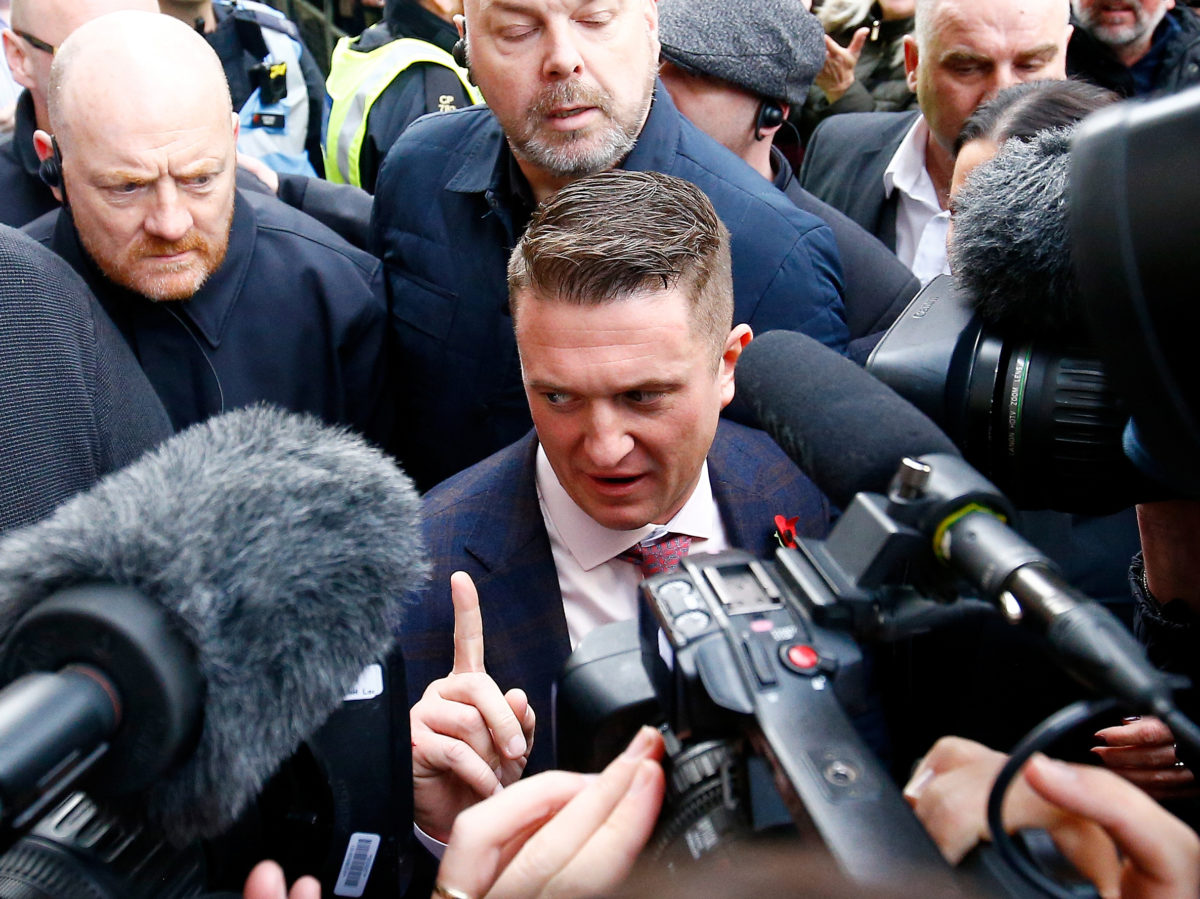 Youtube must 'reconsider judgment' on Tommy Robinson videos, says Culture Secretary