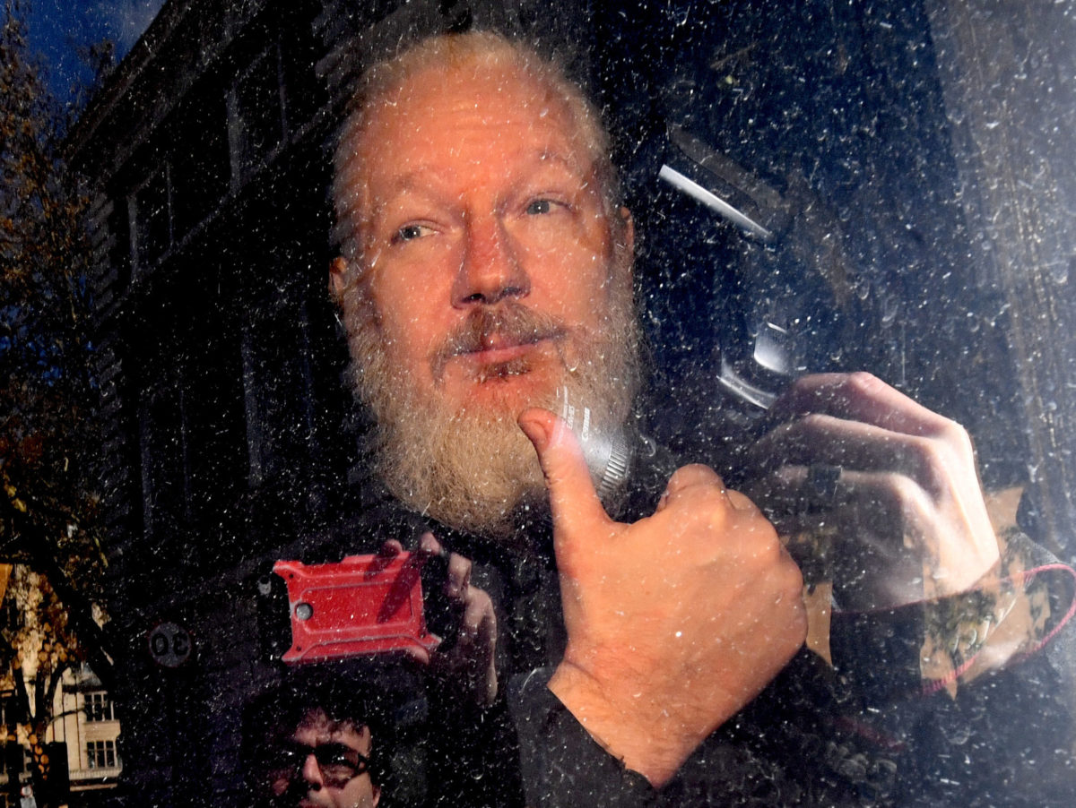 Ecuadorian president accuses Julian Assange of using embassy to host hackers