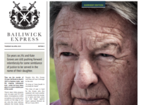 Bailiwick Express front page