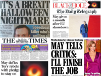 Brexit delay newspapers